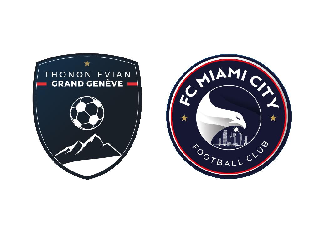 FC Miami City Football Club - Strive Football Group Teams - USA - TEGG Thonon Evian Grand Geneve FC - Europe France Geneva